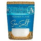 SaltWorks Pacific Blue, Kosher Flake Salt, Artisan Zip-Top Pouch, 2.5 Ounce
