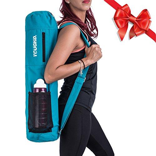 Turquoise Yoga Bag | Blue Yoga Mat Bag Sling Yoga Backpack For Yoga Mat Yoga Workout Bag