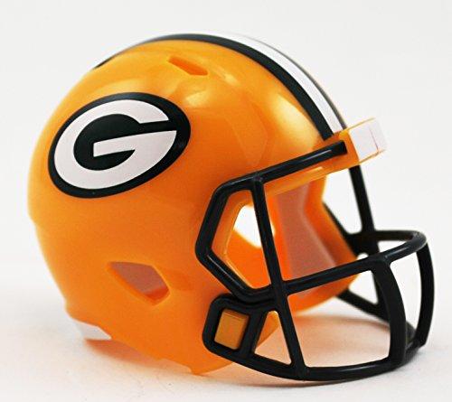 Green Bay Packers Original Art (GREEN BAY PACKERS NFL Cupcake / Cake Topper Mini Football Helmet)