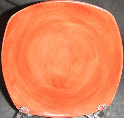 Limoges Jammet Seignolles Saga Orange Bread & Butter Plate
