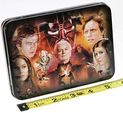 Star Wars SAGA Double Deck of Playing Cards in Tin _ with 5 Bonus Dice