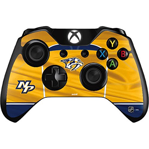 NHL Nashville Predators Xbox One Controller Skin - Nashville Predators Jersey Vinyl Decal Skin For Your Xbox One Controller