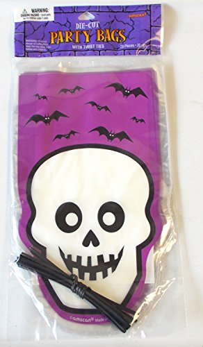 Shopko Skull Bats Party Treat Bag Children's (Bday Treat)