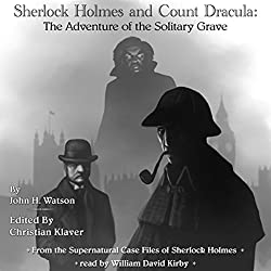 Sherlock Holmes and Count Dracula
