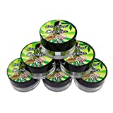 50 Girl Scout Cookies Shatter Labels Oil Wax Crafts 1G 5ML Acrylic Jars AJ-014