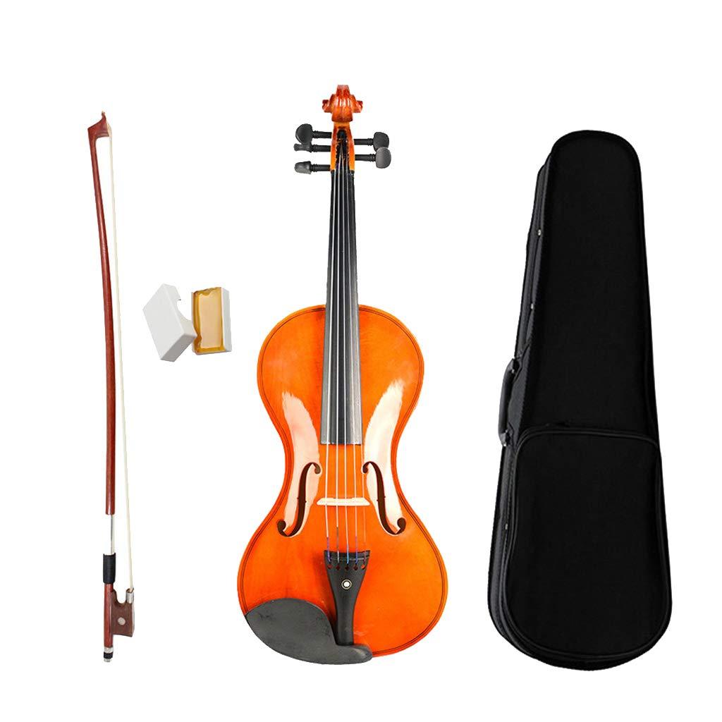MagiDeal 5 String Violin 4/4 Full Size Violin +Case Bow Rosin For Violin Beginner non-brand STK0178005123