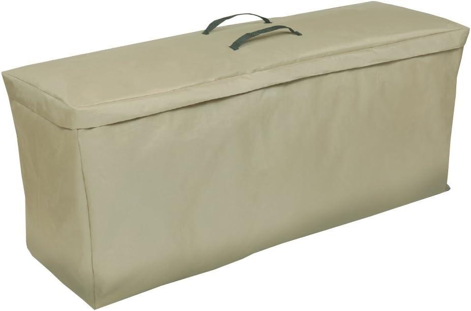 Modern Leisure 4124AB 48 L x 16 D x 22 H inches Patio Cushion Set Cover, Beige