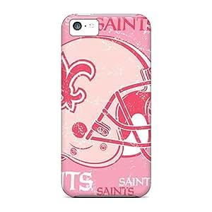 Excellent Design New Orleans Saints Phone Case For Iphone 5c Premium Tpu Case