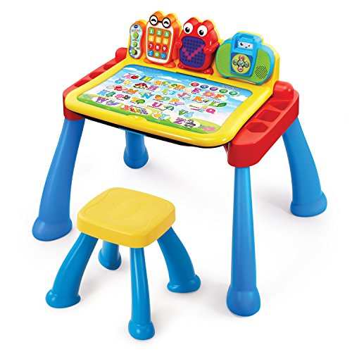 VTech Touch and Learn Activity Desk Deluxe (Frustration Free Packaging)]()