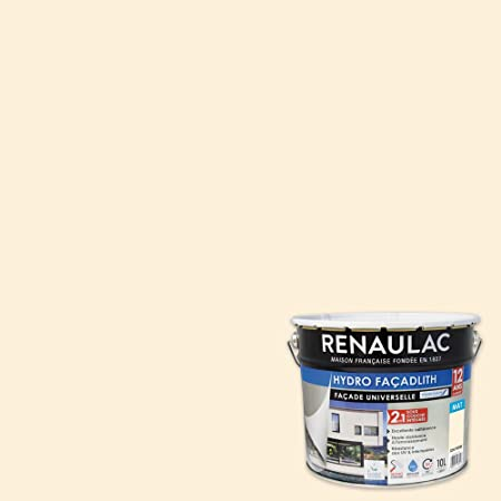 Renaulac Peinture Facade Hydropliolite Ton Pierre Garantie 12 Ans 10l 80m Pot Amazon Fr Bricolage