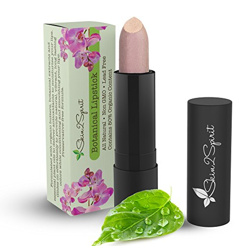 Botanical Lipstick (JICAMA) Natural | Organic | Certified Cruelty Free | Lead Free | Paraben Free | Gluten Free | Healthy | Moisturizing | Vibrant Color that's Good for your Lips!