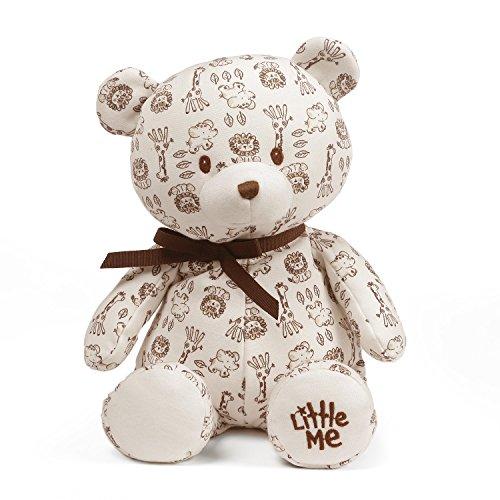 Gund Baby Little Me Baby Teddy Bear Plush Stuffed Animal, Safari (Stuffed Safari)