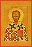 St. John Chrysostom Traditional Panel Russian Orthodox icon