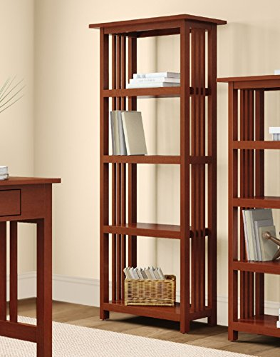Alaterre Artisan Bookcase, 60-Inch, Cherry by Alaterre (Image #2)
