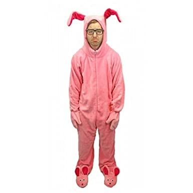 Amazon.com: A Christmas Story Deluxe Bunny Suit Pajamas from Aunt ...