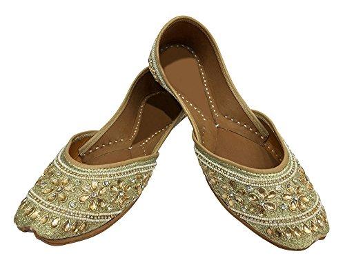 Style Khussa Step Sandal Flip Flop n Shoes Punjabi Shoes DD994 Slipper Jutti Indian Juti qIFrRTF5w
