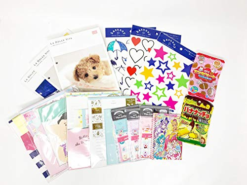 Fusion Kawaii Wonderful Japanese Signature 12-pc Stationery Set Bundle Assorted Items