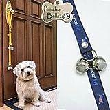 Poochie Training Bells **NEW** ''All American Dog'' Designer Doggie Doorbell 95% Success Rate !!