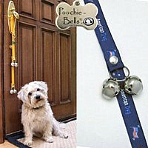 Poochie Training Bells **NEW** ''All American Dog'' Designer Doggie Doorbell 95% Success Rate !!