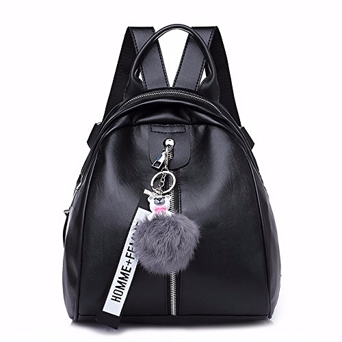 Gqfgyyl New Women Shoulder Bag Soft Leather Handbag Mini Mini Backpack