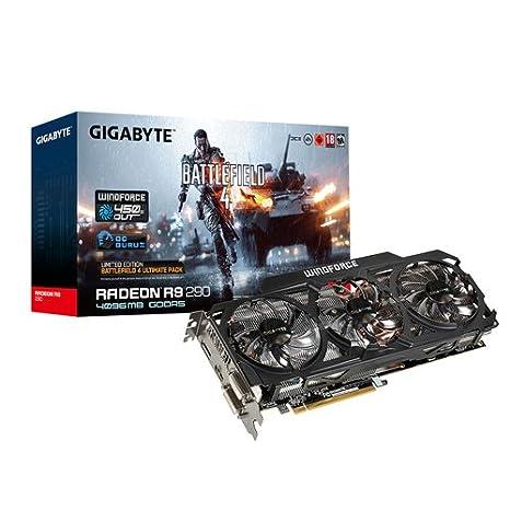 Gigabyte Radeon R9 290 - Tarjeta gráfica de 4 GB (Radeon R9 ...