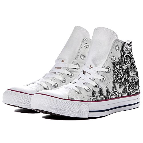 Converse By Skull Personalizzate Big Yourstyle Sneaker Scarpe p7vw55