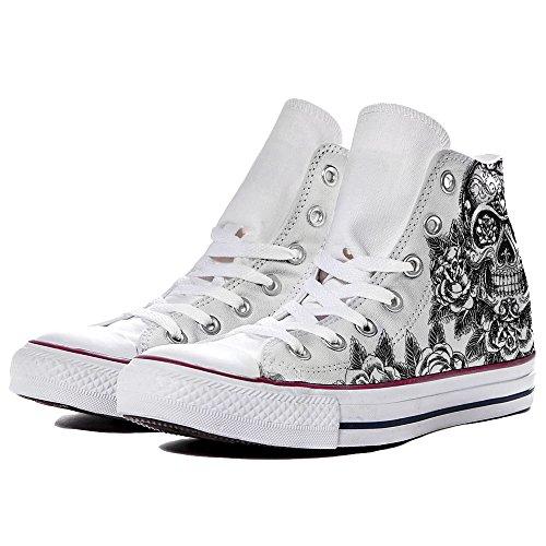 Sneaker Damen Weiß Weiß