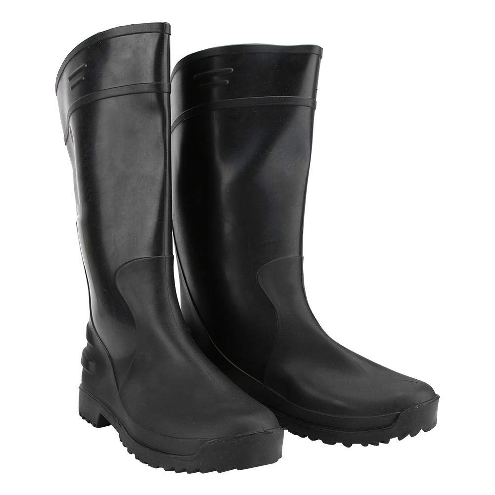 PVC Waterproof Chemical Resistant Industry Protective High Work Boots(42码)