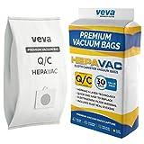 VEVA 30 Pack Premium HEPA Vacuum Bags Type Q Cloth Bag Compatible...