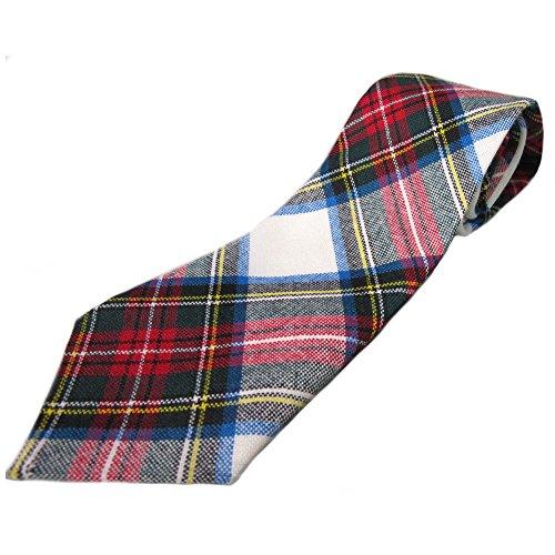 Stewart Dress Tartan Tie 100% Wool - Made in Scotland (Stewart Tie Tartan)