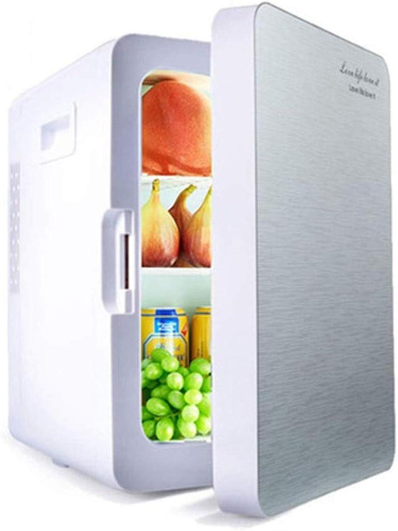 カー冷蔵庫冷蔵庫クーラーミニポータブル20リットル冷蔵庫ヒーターとウォーマーポータブル熱電AC / DCシステムの小型冷蔵庫コンパクトな設計能力