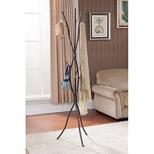 Stand Branch - K & B Furniture Tree Branch Coat Rack - 71H in.