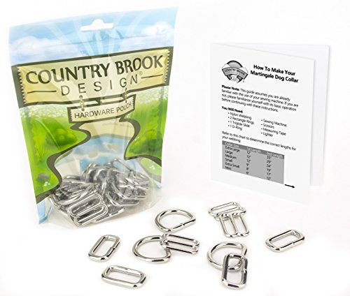 - Country Brook Design | 1 Inch Martingale Dog Collar Kit