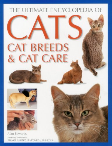 The Ultimate Encyclopedia of Cats, Cat Breeds & Cat Care by Brand: Anness