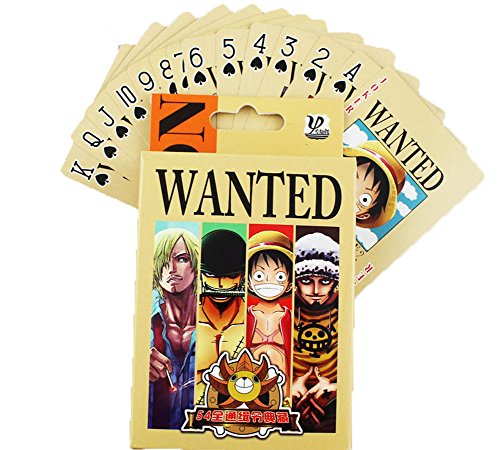 E.a@market Anime Picture Designed Poker Playing Card (One Piece)