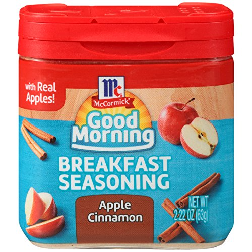 (McCormick Good Morning Apple Cinnamon Breakfast Seasoning, 2.22 oz)