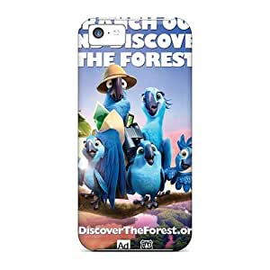 Shock-Absorbing Hard Phone Cover For Iphone 5c With Allow Personal Design Trendy Rio 2 Image AaronBlanchette