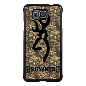 Recommended Design Phone Case browning 2 Black Newest Personalized Design Samsung Galaxy Alpha Cover Case