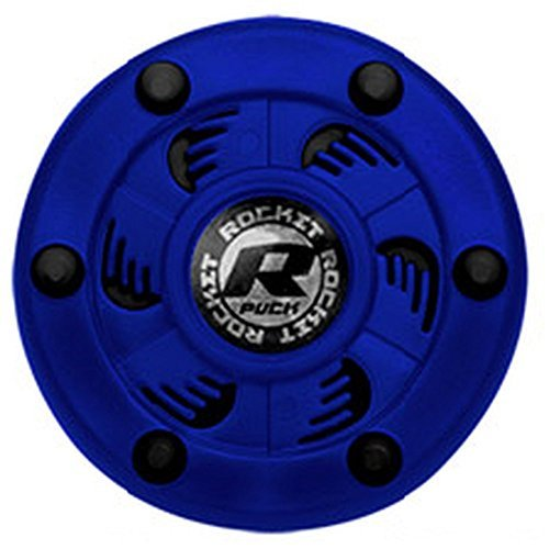 Pro In Line Hockey Puck - Rocket Inline Hockey Puck (Blue/Black)