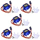 #1: Longruner SG90 Micro Servo Motor 9G RC Robot Helicopter Airplane Boat Controls KY66 (KY66-5)