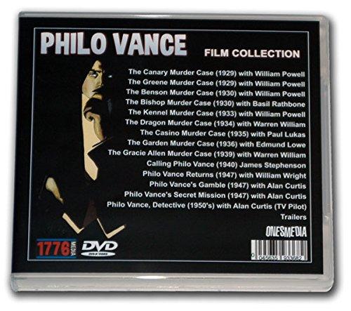 PHILO VANCE LOST FILMS COLLECTION (Rathbone Boston)