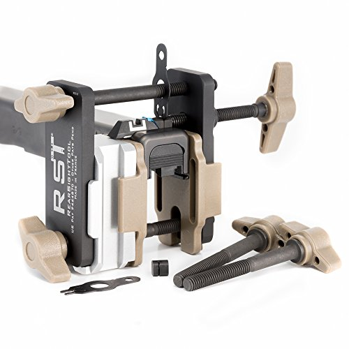 Gen 3 (Mk III) Universal Field Sight Pusher (Basic tool set) - 2 in 1: Front & rear sight installations + Compact range adjustment tool from RST RearSightTool (Installation Rear)