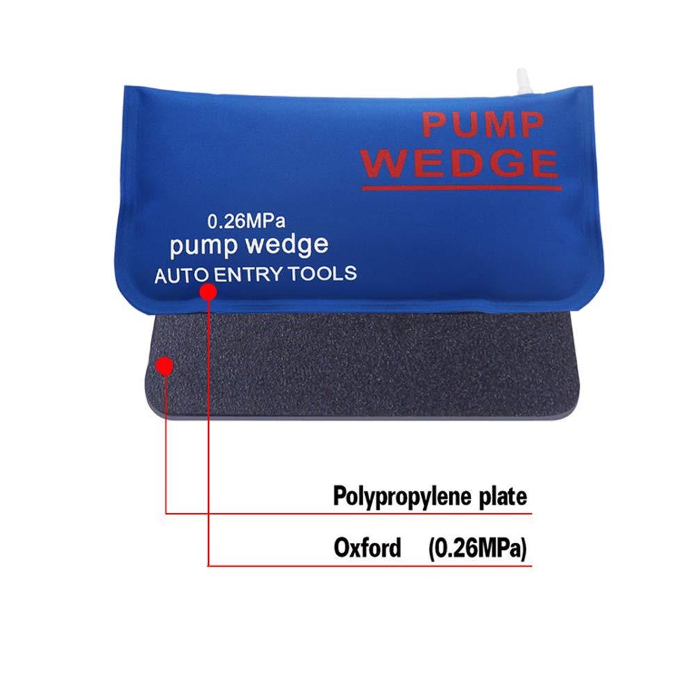 Petit Rectangle WANYIG 4 Pi/èces Air Wedge Pump Wedge Air Coussin/é Puissant Outils /à Main Bricolage Inflable pour Installation des Portes Fen/êtres Vert