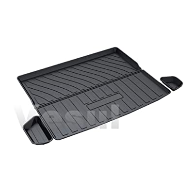 Vesul Rubber Rear Trunk Cover Cargo Liner Trunk Tray Carpet Floor Mat Compatible with Jeep Cherokee 2020 2020: Automotive