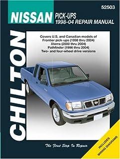 nissan pick ups and pathfinder 1989 95 chilton total car care rh amazon com Nissan Trucks 94 Nissan Truck Parts
