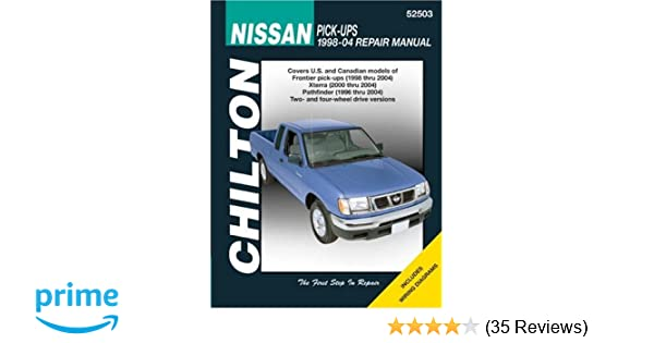 nissan xterra 2000 factory service repair manual