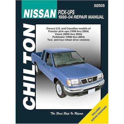 repair manual for nissan amazon com rh amazon com Nissan Altima Parts Manual Nissan Altima Parts Manual