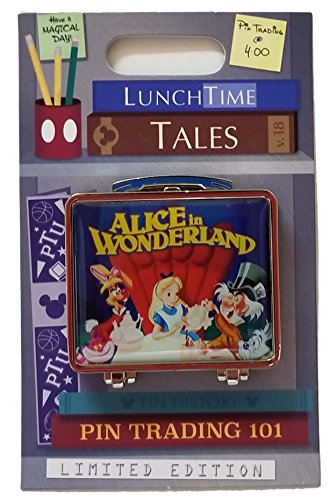 WDW Trading Pin - Lunch Time Tales - Alice in Wonderland