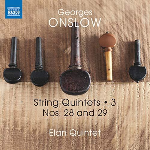 Onslow: String Quintets, Vol. 3 - Nos. 28 & 29