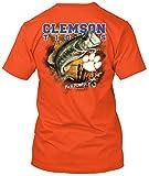 Clemson Tigers Big Time Bass Pesca TSHIRT